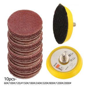 5-1cm-100Pcs-Sablage-Disques-Coussinet-Kit-pour-Perceuse-Broyeur-Rotary-Outils-H