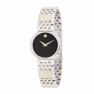 Movado 0606963 Women's Esperanza Black Quartz Watch