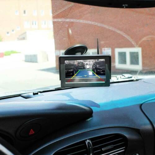 Rückfahrkamera Kennzeichenhalter Autoscheibe Monitor PKW Auto Transpoter Funk