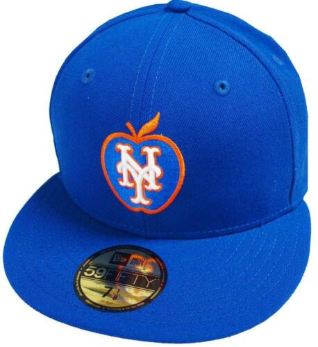 New Era New York Mets Big Apple Royal Cap 59fifty Fitted Special Limited Edition