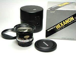 Konica-Hexanon-21mm-F4-BOXED