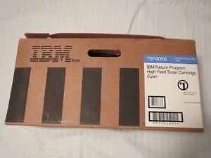 IBM 75P4056 High Yield Toner Cartridge CYAN For InfoPrint 1354 1464 NEW OEM