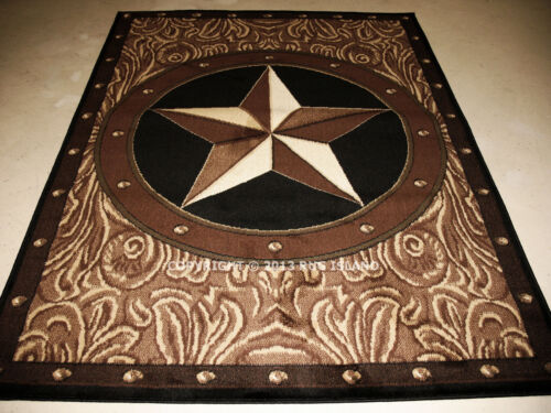 """5x8 5/'3/"""" x 7/'2/"""" Texas Star Western Southwestern Area Rug"""