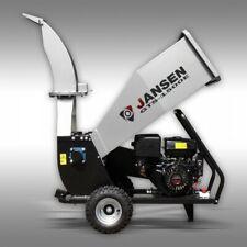 Jansen Self Feeding Wood Chipper Electric Start And Manual Starter15hp