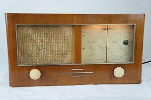 Loewe-Radio-Komet-2650W-Roehrenradio-Radio-Roehre-Tube-1949-1950-gecheckt