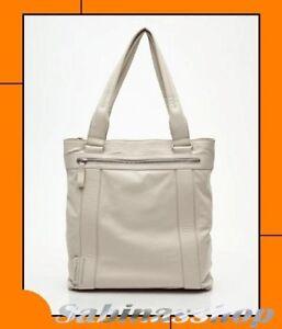 Donna Avorio Pelle borsa Duck® Shopping Grande Grace nuova Vera In Mandarina Big qgfZ7BZw
