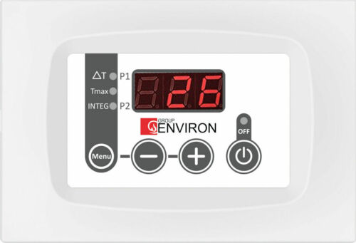 3 Capteurs Environ tc110 solaire Température-différence régulateur solaire Contrôle