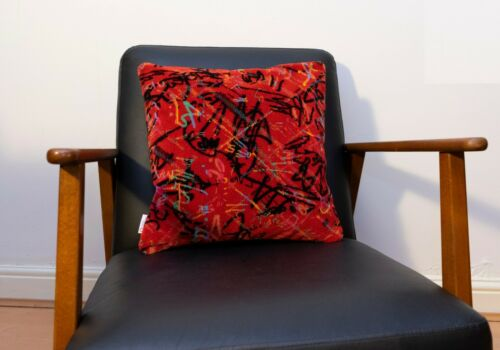 Cushion Made From Sydney Bus Moquette