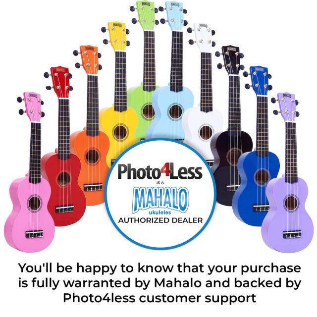 Mahalo Soprano Ukulele In Pink Sparkle For Sale Online Ebay
