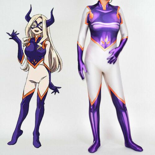 My Hero Academia Boku MT LADY Jumpsuit Zentai Bodysuit Cosplay Costume Halloween