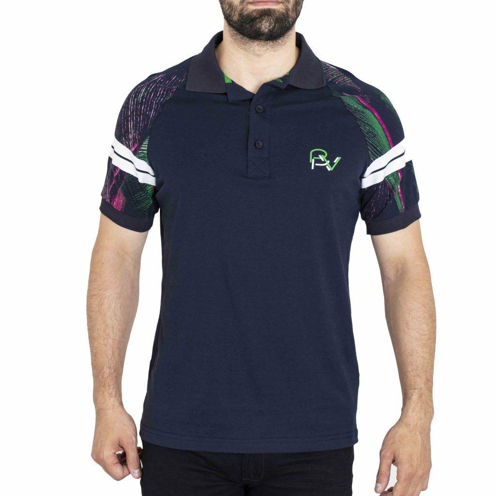 Pavi  Polo shirt bluee 05-0248 for men