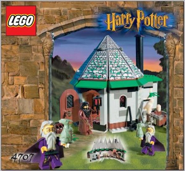LEGO 4707 - HARRY POTTER - Hagrid's Hut - 2001 - NO BOX