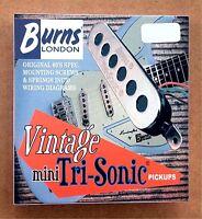 Burns Of London Mini Tri-sonic Pickup Set Chrome