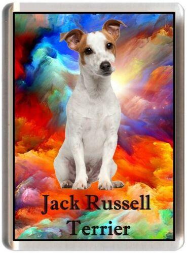 REF JGJRT15 JACK RUSSELL FRIDGE MAGNET ANIMAL DOG PUPPY FUNNY TERRIER