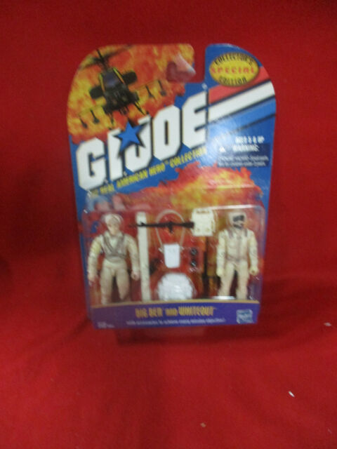 Vintage GI Joe Big Ben and Whiteout Collectors Special Edition 2000 / 2-Pack