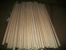 "Lot Of 50 (Fifty) Wooden Dowel Rods. 5/16"" X 11"" Great For Crafts & Projects NEW"