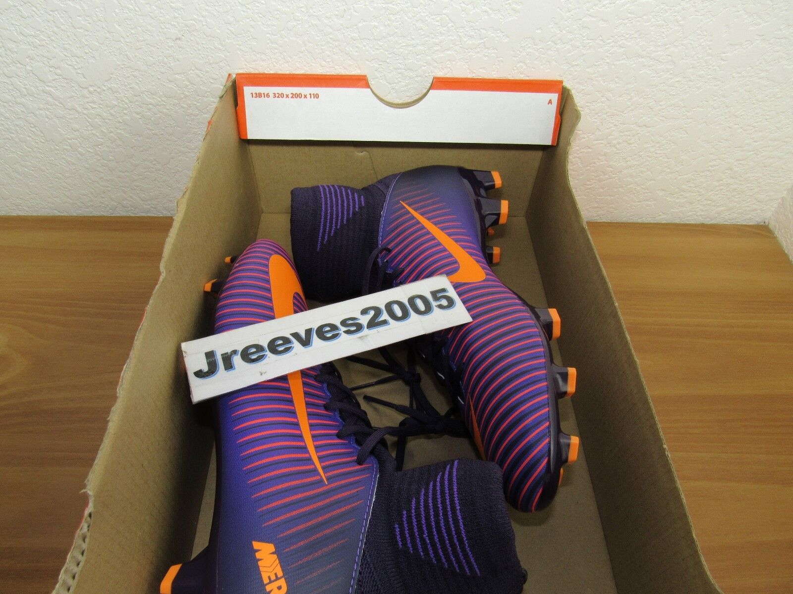 quality design 4343c 560e5 Nike Jr Mercurial Superfly V FG Soccer Cleats Sz 4.5y 100 Auth 831943 585  Youth for sale online   eBay