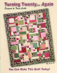 TURNING TWENTY... AGAIN Fat Quarter Quilt Pattern Book FriendFolks ... : turning twenty quilt pattern - Adamdwight.com