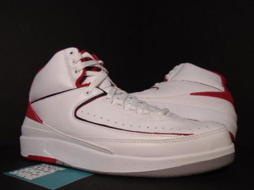 Cemento 102 Air Jordan Nike Rojo Gris Negro Retro Ii 385475 Fuego Blanco 12 2 Nuevo FUUx7n