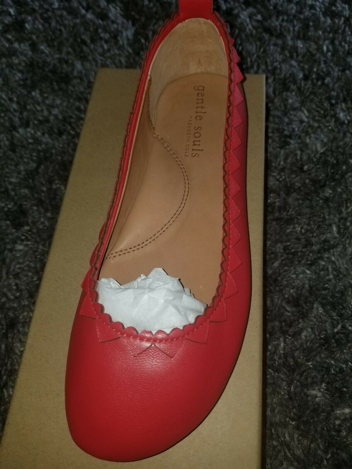 Gentle Souls Chaussures Dana Coeurs Taille 8.5