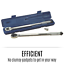 """thumbnail 8 - Kincrome 1/2"""" Drive Micrometer Car Torque Wrench Triple Scale Hand Tool MTW150F"""