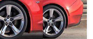 2016-2018 Camaro Genuine GM Front /& Rear Splash Guards Red Hot