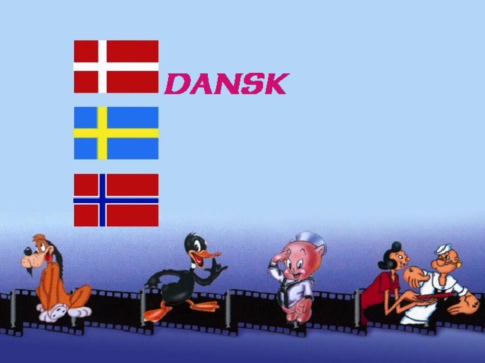 SKIPPER SKRÆK I FORM - MED DANSK TALE, DVD, animation