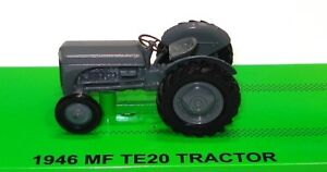 1-64-1946-MASSEY-FERGUSON-TE20-FARM-TRACTOR-BRAND-NEW-IN-DISPLAY-CASE