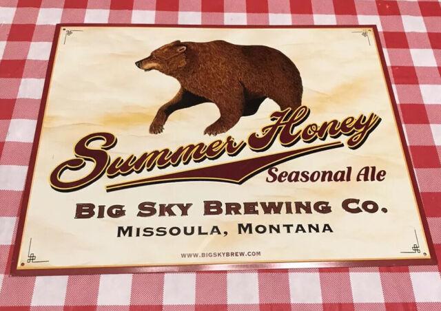 SUMMIT BREWING CO METAL TACKER BEER SIGN NEW BOTTLE EPA CRAFT TIN MINNESOTA