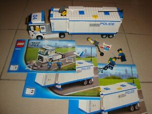 Lego City Lot Police Camion 60044 7741 60041 60042 60048 Bonus/jpj27