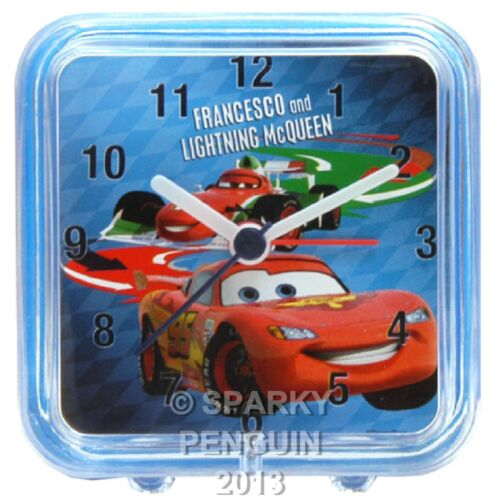 DISNEY PIXAR LIGHTNING McQUEEN CARS ALARM CLOCK - 100% OFFICIAL - BRAND NEW 1 2