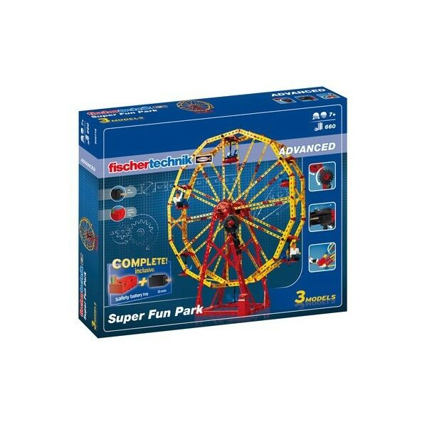 BNIB FISCHERTECHNIK Advanced Super Fun Park set