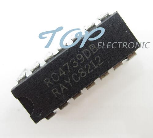 5PCS RC4739DB RAYC Encapsulation DIP-14 NEW