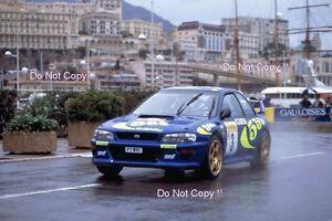 colin mcrae subaru impreza wrc 97 monte carlo rally 1997 photograph 79 Monte Carlo image is loading colin mcrae subaru impreza wrc 97 monte carlo
