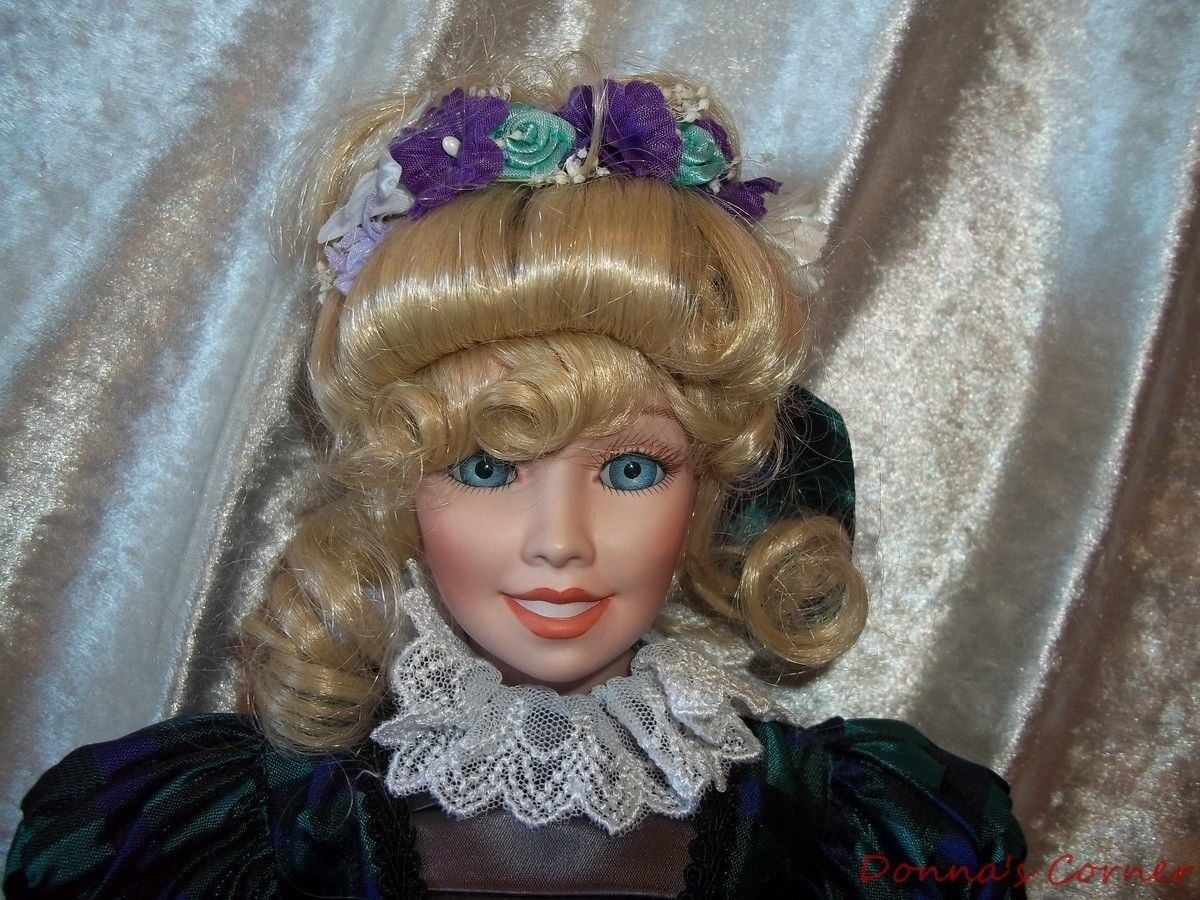 OLIVIA ~16  U S HISTORICAL SOCIETY COLLECTOR DOLL ~ BETTE BALL`GOEBEL