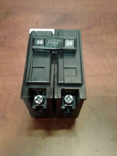 Eaton BAB2030 BA2030 Cutler Hammer Circuit Breaker 2 Pole 30A Type BA 120//240V