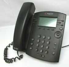 Polycom Vvx 300 Ip Business Media Phone 2201 46135 001 With Ac Adapter