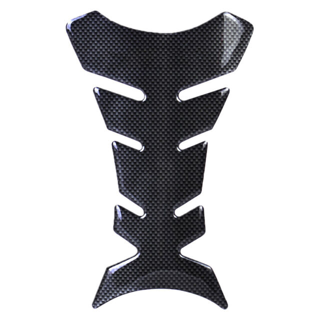 3D Motorcycle Carbon Fiber Gel Oil Gas Fuel Tank Pad Protector Sticker Decal