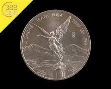 Mexico Libertad 5 Unzen oz Silber Ag 2010 Siegesgöttin
