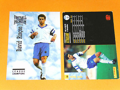 DAVID RINCON US DUNKERQUE FOOTBALL CARD PREMIUM PANINI 1995 | eBay