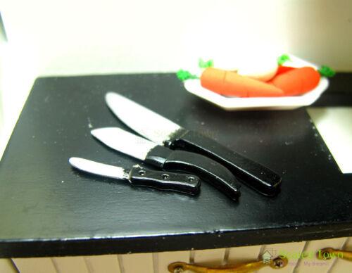 Casa de muñecas en miniatura de utensilios de cocina Juego de té de Comedor Vajilla Cubiertos Utensilios De Cocina
