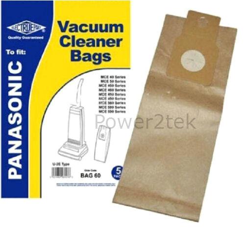 15 x U-2E U20AB Dust Bags for Panasonic MC-E450 MCE451 MC-E451 Vacuum U20E