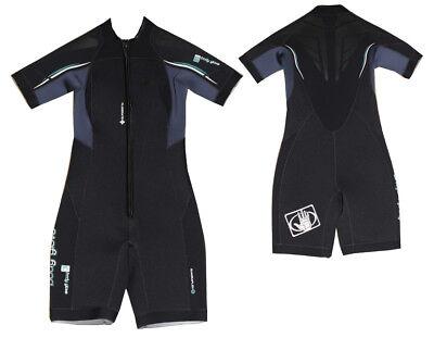 Sport Bekleidung Radient Body Glove Exo Frontzip Shorty Neopren 4 Mm Damen Wellenreiten Surf Kite Tauchen Taille Und Sehnen StäRken
