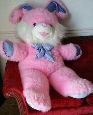 Big Pink Stuffed Bunny Rabbit