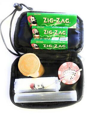 50 leaves pack Plus Zig Zag Roller 10 Packs Zig Zag Reg Green Rolling Papers