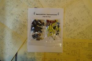 Sansui-SM-88-amplifier-rebuild-restoration-Capacitor-Kit-fix-repair-instruction