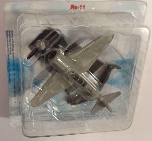 Fertigmodell aus Metall Jak-11 Legendäre Flugzeuge,De Agostini NEU