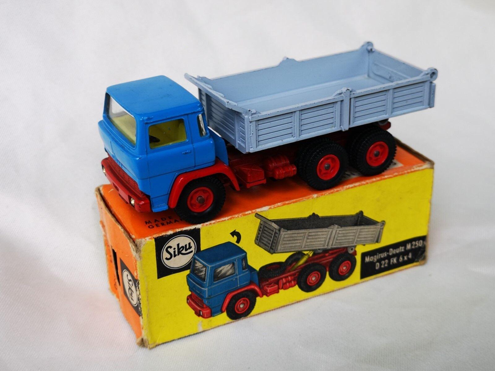 gran descuento Siku v281 Magirus Deutz m250 d22 d22 d22 FK 6x4 camión Boxed  Seleccione de las marcas más nuevas como