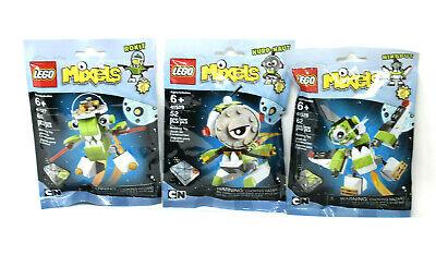 Brand New Niksput 41528 Nurp-Naut 41529 LEGO Mixels Series 4 Rokit 41527