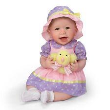 Ashton Drake - Abigail's First Easter Baby Girl Doll By Linda Murray
